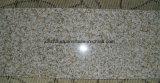 Beige Granit polierte Fußboden-und Wand-Umhüllung-Fliesen