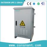 UPS em linha ao ar livre 1-10kVA das telecomunicações 48VDC com a bateria do ferro do lítio