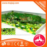 遊園地のゲームのジャングルの主題はPlayghouseの屋内運動場の価格をからかう