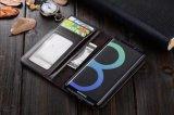 Buch-Art-Leder-Kasten für Samsung-Galaxie S7 S8