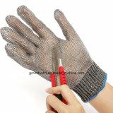 Gant fonctionnant d'acier inoxydable de Resisant de coupure de sûreté