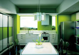Конструкция горячей кухни лака надувательства алюминиевой самомоднейшая