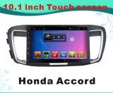 Reprodutor de DVD Android do carro do sistema para Honda Accord 10.1 polegadas com navegação do GPS