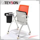 Unveränderliches Metallfaltbarer Sitzungs-Stuhl mit Schreibens-Platte