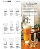 Tazza di vetro della birra della nuova di disegno della spremuta della tazza tazza di vetro di vetro dell'acqua