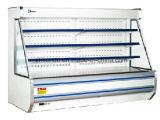 Réfrigérateur/congélateur de Surpermarket pour l'étalage de fruit