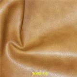 Cuero de alta resistencia a la abrasión de Protección Ambiental de la PU material de los muebles artificial
