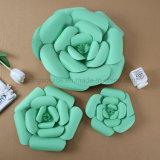Fiore di carta Handmade del fiore artificiale della decorazione di cerimonia nuziale