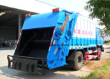 Carro caliente de la basura M3 de la venta 10 de Dongfeng 4*2 carro de basura del compresor de 10 metros cúbicos