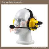 高い騒音環境のための無線のヘッドセットを取り消す騒音