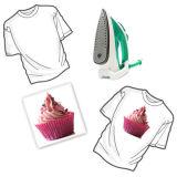 Papel de transferencia de la camiseta del Aw A3 A4 para las materias textiles de algodón del color ligero