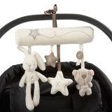 Het Hangende Stuk speelgoed van de Baby van de pluche met Geluid voor Pasgeboren