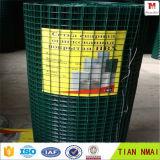Покрынная PVC сваренная ячеистая сеть в штоке с ISO9001: 2008