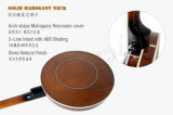 Банджо Aiersi 5-String с крышкой Bj005-24 резонатора кожи Remo Mahogany