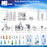 工場製造者の天然水の瓶詰工場
