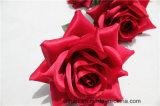 Romantische künstliche rote Rosen-Blumen-Fälschungs-Rosa-Blume für Hochzeits-Ausgangsdekoration