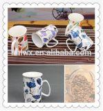 Taza de cerámica caliente de la venta 12oz 320ml con el diseño del cliente