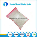 Freier Großhandelszoll LDPE-Plastikreißverschluss-Verschluss-Beutel für Nahrungsmittelverpackung