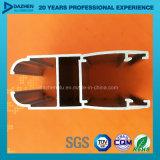 Kundenspezifisches Stärken-Aluminiumaluminiumprofil für Libyen-Fenster-Tür-Flügelfenster-Rahmen
