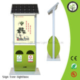 Tabellone per le affissioni esterno di alluminio LED del comitato solare del blocco per grafici che fa pubblicità alla strumentazione della casella chiara