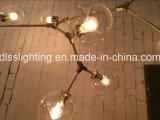 Moderne freie Glasleuchter-Bistro-Kugel-hängende Lampe für Hotel-Dekoration
