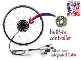 Opción eléctrica elegante del motor/No. 1 del eje del motor de la conversión Kit/BLDC de la bicicleta de la generación 200W-400W de la empanada 5 de los motores eléctricos de la bicicleta