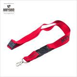 rote Abzuglinie des Drucken-100%Polyester mit Sicherheits-Ausbrechen-Zubehör