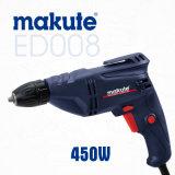 Электрический сверлильный аппарат ручного резца Makute 450W 10mm профессиональный (ED008)