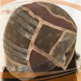 Peluca de seda superior del cordón de Glueless de la tapa de seda del pelo humano (PPG-l-0761)