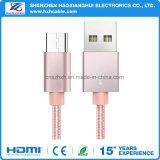 USB 3.1 Tipo C 2.1A Cabo de carregamento para celular