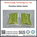 Saco Flameless militar reativo do calefator da ração de Mre da água da minúcia