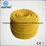 Fabricant en Chine Price Price Pet / PP Twist 3 Strand Rope