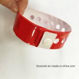 Один Wristband PVC браслета H3-9620 обломока пользы времени устранимый