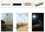 40W LED integrado 60W Solar Panel luz de calle solar