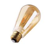 ampoule ambre de filament de 2W St64 DEL Edison