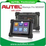 2016의 Autel Maxisys 직업적인 Ms908p 자동 진단 기구 진단 스캐너 Autel 본래 Maxisys 직업적인 ECU 프로그래머