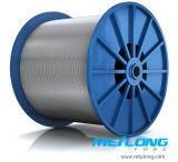 Трубопровод шнура Downhole нержавеющей стали Tp316L Capillary