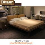Synthetische lederne Schlafzimmer-Möbel ausgießen