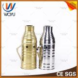 Os mais recentes gabinetes de aço inoxidável Dispositivo de vento Hookah Smoking Shisha Cover Tool Shisha Hookah Acessórios