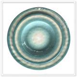 Forma redonda Cerâmico-Como o jogo Unbreakable dos utensílios de mesa da melamina