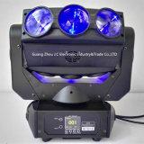 2016newest 9PCS 10W RGBW 4in1 Phantomrollen-Träger-bewegliches Hauptlicht