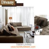 Sofá moderno del cuero de la sala de estar para los muebles modernos /Couches del sofá