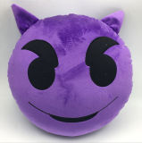 7D Siliconized 섬유 연약한 Emoji 베개