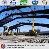 換気を用いる鉄骨構造の重い産業工場
