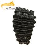 Cabelo Curly brasileiro livre de Remy do produto químico longo do cabelo humano