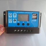 10A 20A 30A Controlemechanisme van de Last van de Batterij van de 12V/24VIntelligentie het Zonne