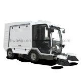 専門の市公衆衛生の電気道掃除人のトラック
