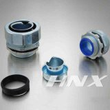 Tipo hexagonal Conector-Cinc flexible masculino de Hnx Dpj del conducto