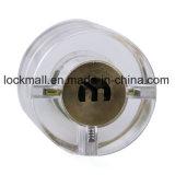 Faisceau transparent de blocage de porte de sûreté (clé de demi-cercle)