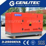 50Hz générateur insonorisé triphasé de diesel de la puissance nominale 37.5kVA 30kw Yangdong